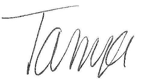 Tanya's NEW Signature